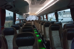 notranjost Setra avtobus